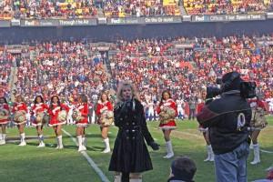 Kim Cameron at Redskins Stadium