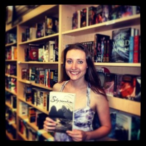 Savannah in a Bookstore