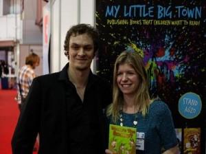 Calvin Innes with Beth Dexter-Smith