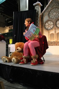 Melissa Moraja at School Event